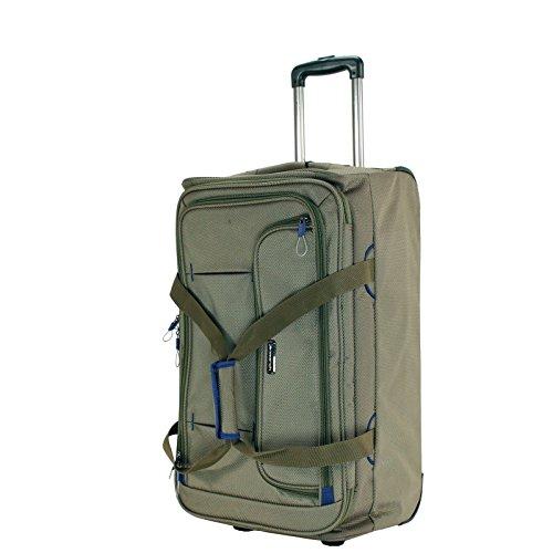 MARCH 15 Trolley Tasche M Gogobag 2,5 kg Kaschmir 53x33x20cm Polyester Stoff Reisetasche Bordgepäck Kabinen Handgepäck Bowatex