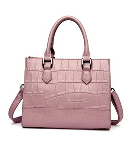 LXopr Shoulder Genuine 7 10 Pink 8 Bags 9 backpack Ms Leather 6 inch bag 5 Crossbody wrqUxnwEd