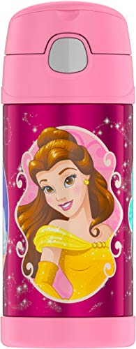 Disney Princess Kids (Thermos Funtainer 12 Ounce Bottle, Disney)
