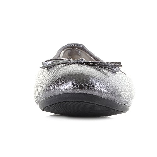 Butterfly Twists Pewter Twists Butterfly Donna Ballerine vOdq4BxO