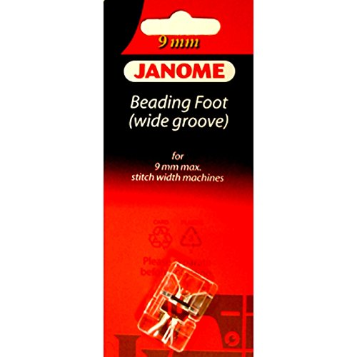 - Janome Beading Foot (Wide) for 9mm Machines