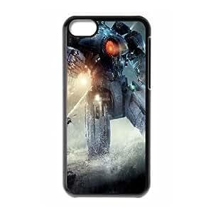 iPhone 5c Cell Phone Case Black Pacific Rim Robots Gqhsq