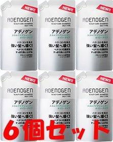 【つめ替6個】薬用アデノゲン スカルプケア シャンプー(オイリータイプ)310ml B00UN1ZJOI