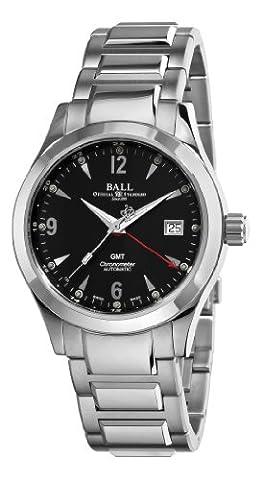 Ball Men's GM1032C-S2CJ-BK Engineer II Ohio Black GMT Dial Watch (Ball Watch Engineer Ohio)