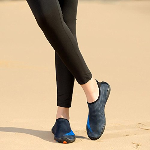 Deesee (tm) Uomini Donne Allaperto Sport Acquatici Immersioni Calze Yoga Spiaggia Snorkeling Calze Blu 33