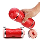 UIARTLOVE Electric Toys Male Full Automatic Sucking Cup Man's Toy Mini Vibration Massage Device Great Gift Relax Body and Muscle UIARTLOVE
