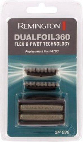 Remington SP290 Dualfoil 360 Flex & Pivot F4790 Electric Shaver Dual Foil Heads & Cutter Blades Pack