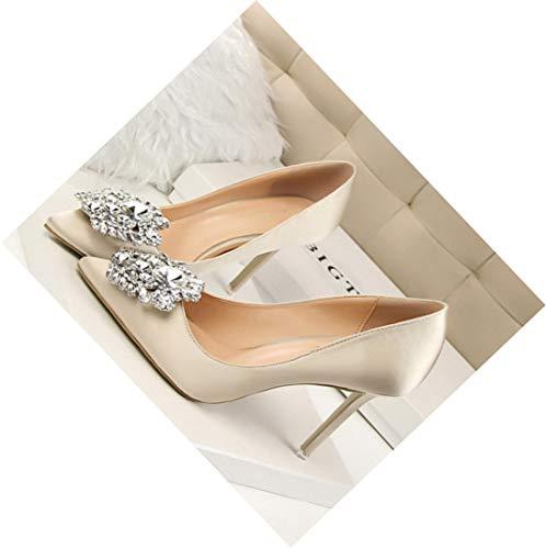 HEWPASKE Shoes Women Pumps 2019 High Heel Women Shoes Fashion Women Heels Shoes Rhinestone Ladies Shoes Classic Pumps
