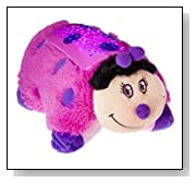 Dream Lites Pillow Pets - Hot Pink Lady Bug