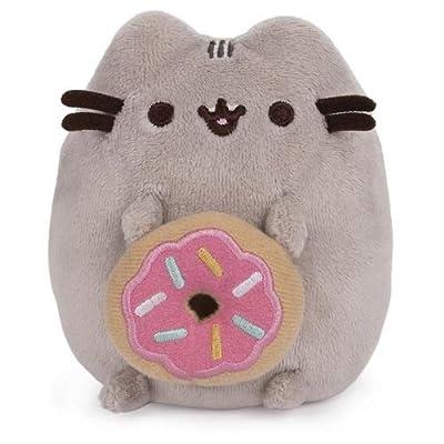 GUND Pusheen with Donut Dangler Hanging Plush Stuffed Animal Cat: Toys & Games