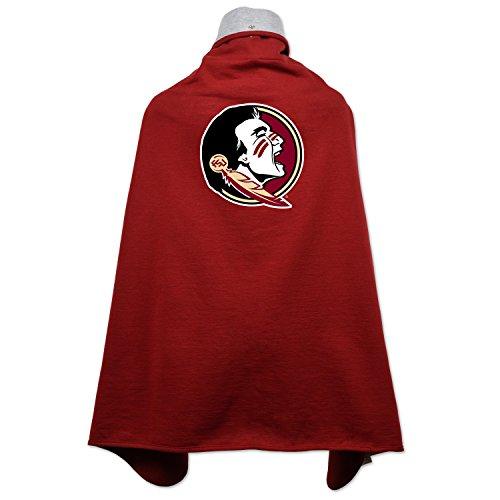 NCAA Florida State Seminoles Children Unisex Cape Drape, One Size, Cardinal