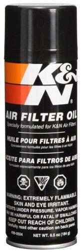 K&N 99-0504 Air Filter Oil - 6.5oz- Aerosol Size: 6.5 Ounce, Model: 99-0504, Outdoor&Repair Store