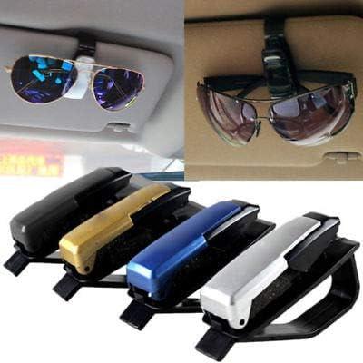 Universal Vehicle Sunglasses Holder Car Eye Glasses Clip Sun Visor Card Pen