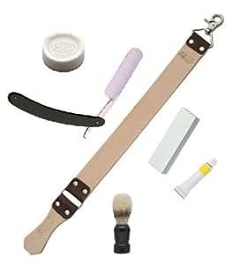 Straight Razor Beginner's Shaving Set
