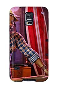 KristineWilliamsshop Hot Tpu Cover Case For Galaxy/ S5 Case Cover Skin - Sunset Overdrive