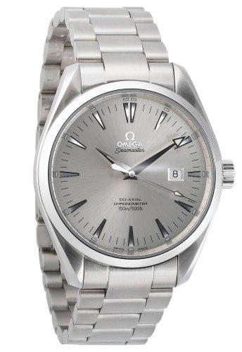Omega Men's 2502.30.00 Seamaster Aqua Terra Big-Size Chronometer Watch