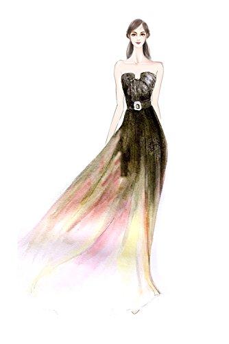 4 Donna linea ad a Bridal Vestito Victory Fuchsia 0qwpg4x