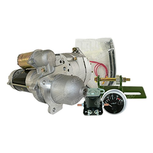 John Deere Alternator Starter Conversion Kit 3010 3020 4010 4020 24V to12V Delco