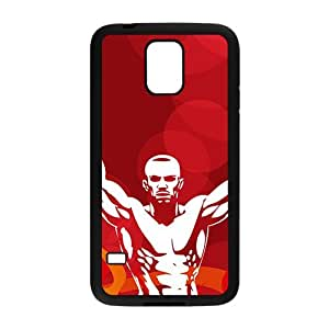 Fiece Strong Man Battle Custom Protective Hard Phone Cae For Samsung Galaxy S5