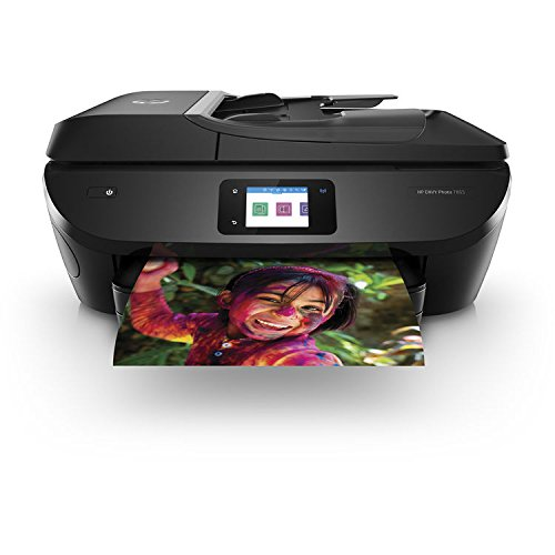 HP ENVY Photo 7855 All-in-One Printer with Wireless direct printing (Certified refurbished) by HP