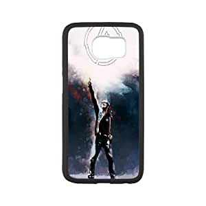 Unique Design -ZE-MIN PHONE CASE For Samsung Galaxy S6 -Music Band Linkin Park Pattern 11