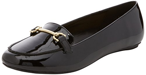 New Look Damen Latent Slipper Schwarz (Schwarz)