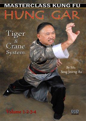 4 DVD SET Hung Gar Tiger Crane Kung Fu - Au