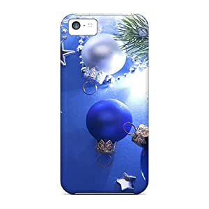Top Quality Case Cover For Iphone 5c Case With Nice Christmas Decoration Appearance