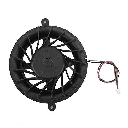 Cooling Fan Sony Ps3 - fosa 17 Blade Internal PS3 Fan for PS3 Slim, Replacement Internal Cooling Fan Cooler Repair Parts for Sony Playstation 3 PS3 Slim Game Console