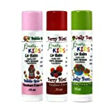 Finally Pure - KIDS Lip Balm Set - Made with ALL ORGANIC Ingredients