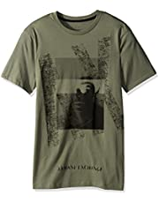 Armani Exchange Men's T-Shirt T- Grey, L