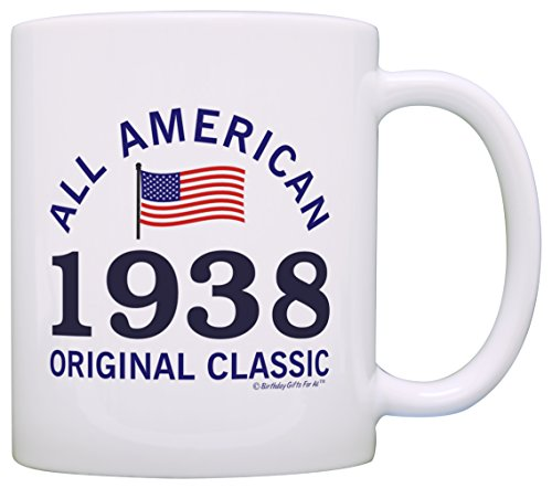 1938 All American Classic Patriotic Coffee Mug