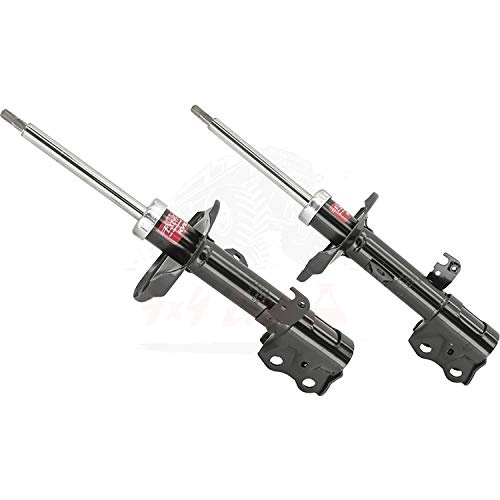 KYB Quick Mount Kit of 2 Struts Front fits TOYOTA Corolla 2009-10 GR-2 EXCEL-G Twin Tube Gas Charged for Replacement, Performance, Leveling, Touring & 4x4 Offroad