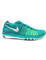 NIKE Free Transform Flyknit Womens Running Trainers 833410 Sneakers Shoes (US 6.5, Clear Jade White Voltage Green...