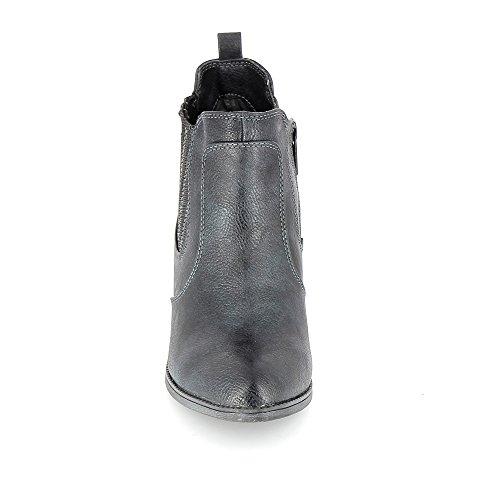 Marine Bleu Boots 1253503 Mustang Fonc wxPOEq