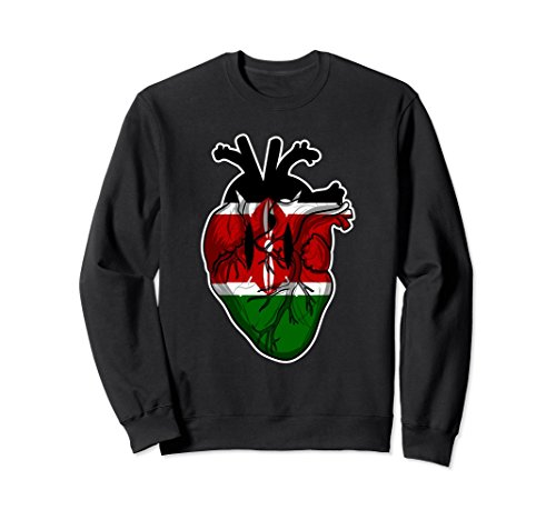 Kenya is In My Heart Sweatshirt - Kenyan Root Sweatshirt