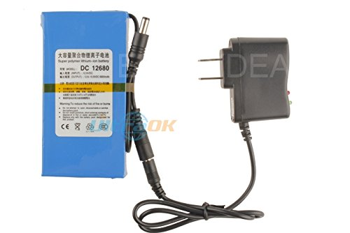 Fashion outlet Super Power DC 12V Portable 6800mAh Li-ion Rechargeable Battery Pack