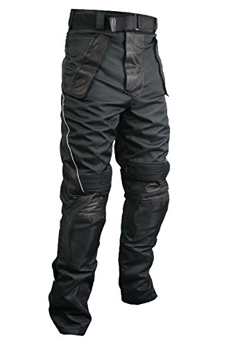 Leather Motorcycle Pants For Men - 3