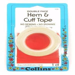 Faced Cuff (Collins Hem & Cuff Tape 3/4