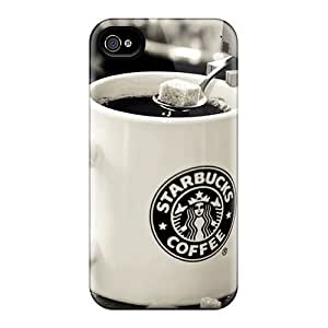 High-quality Durable Protection Case For Iphone 4/4s(danbo Starbucks) Kimberly Kurzendoerfer