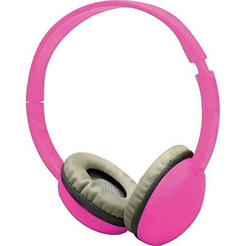 Coby CV-H821PNK Color Kids Headphone w/Mic CVH821 Pink
