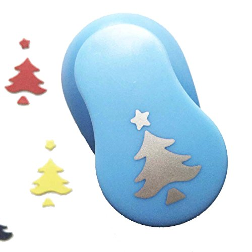 "Caryko 1"" Clever Lever Craft Punch - Paper Cutting Shape (Christmas Tree)"