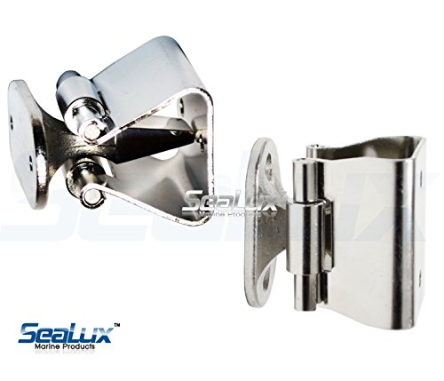 SeaLux Marine 316 Stainless Steel Door Stop Catch and Holder for boat, RV
