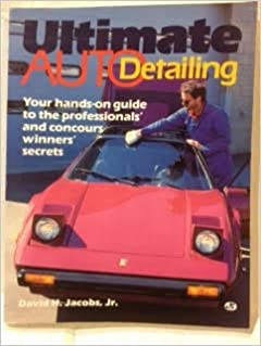 ultimate auto detailing book