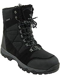 Moose Men's Winter Snow Boots Waterproof 3M Thinsulate Fur Lining Warm Comfy Weatherproof Temperature Rating -30C/-22F Ohio