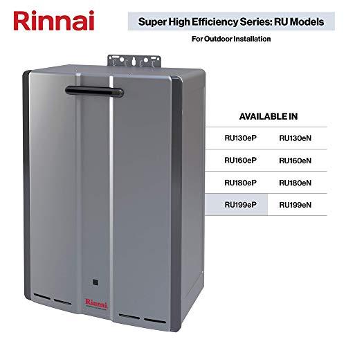 Rinnai RU199eP Tankless Water Heaters, RU199ep-Propane/11 GPM