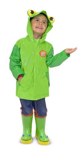 Melissa & Doug Sunny Patch Soggy Froggy Raincoat