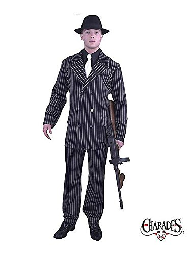 1920's Suit Costume (Gangster Adult Costume - Small)