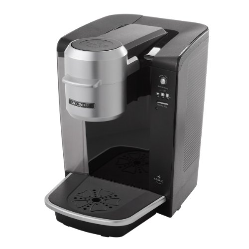 Keurig Coffee Maker Brewing Slow : Mr. Coffee BVMC-KG6-001 Single Serve Coffee Brewer Powered by Keurig Brewing Technology, Black