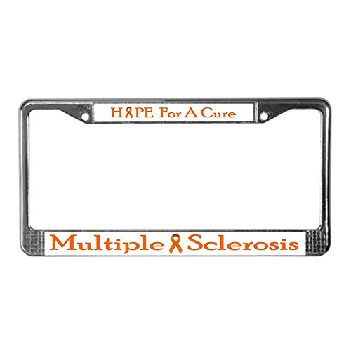 CafePress - MS - Chrome License Plate Frame, License Tag Holder